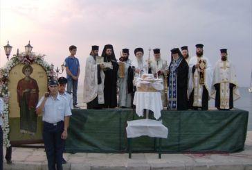 Η Βόνιτσα τίμησε τον Άγιο Παντελεήμονα