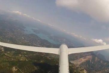 Πτήση πάνω από Αγρίνιο – Ορεινή Τριχωνίδα-Παρακαμπύλια (Video)