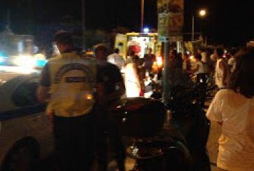 Τροχαίο ατύχημα με τραυματίες στην Παλαιοπαναγιά