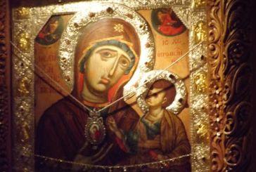 Εσπερινός στην Ιερά Μονή Μυρτιώτισσας (φωτό-video)