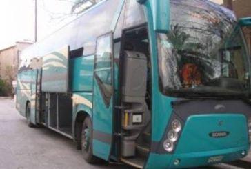 Θρίλερ στη Βόνιτσα με λεωφορείο του ΚΤΕΛ Λευκάδας