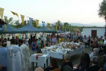 Εορτασμός της Παναγίας στη Μπούκα
