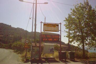 Σε είσοδο της Αιτωλοακαρνανίας το ρολόι δείχνει 2000…