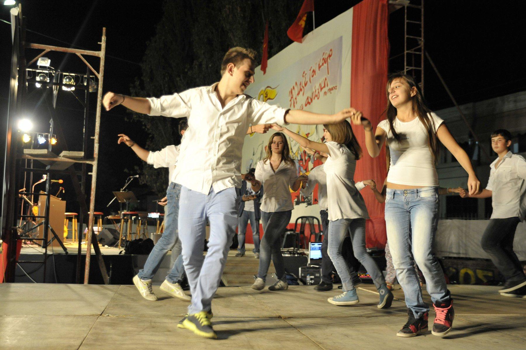 Πολλές εκδηλώσεις στο διήμερο φεστιβάλ της ΚΝΕ (φωτό)