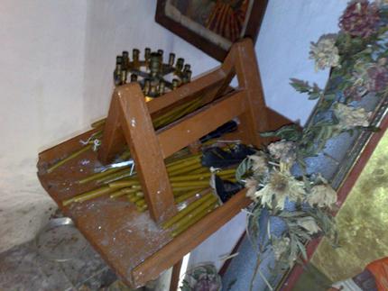 Βεβήλωσαν τον Ι.Ν Αγίου Νικολάου στον Αμάδαρο Βόνιτσας