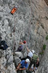 Μαθήματα αναρρίχησης από τον Ορειβατικό σύλλογο Αγρινίου