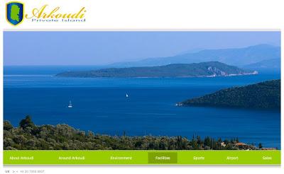arkoudi private island