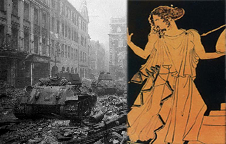 """Τροία έτος Χ π.Χ. Βερολίνο 1945 μ.Χ…Η αφετηρία της """"Ωραίας Ελένης"""""""