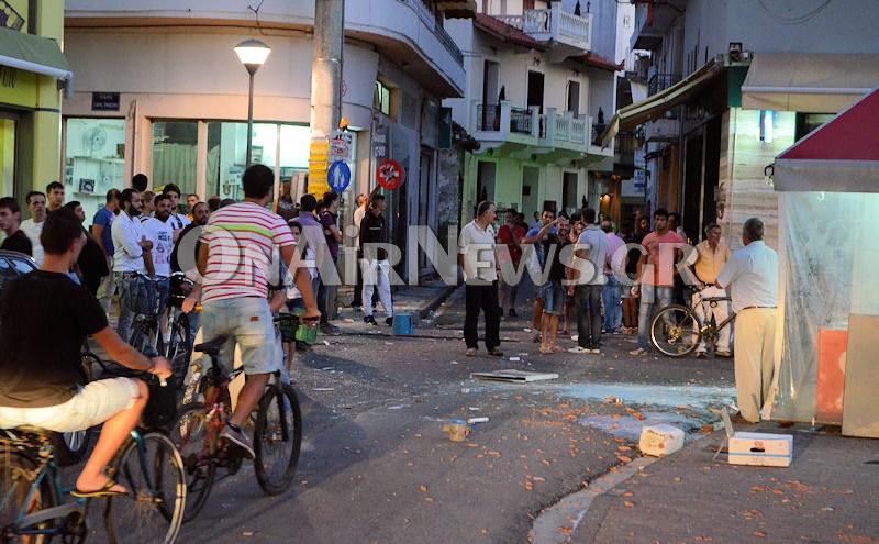 15 συλλήψεις για την οπαδική συμπλοκή στο Μεσολόγγι