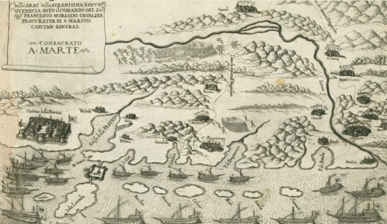 1684: Η μάχη Βενετών κατά Οθωμανών στην περιοχή Οχθίων-Μεγάλης Χώρας