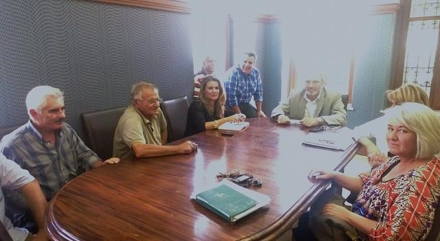 Αντιπροσωπεία της Δημοκρατικής Αριστεράς στο Δημαρχείο Ναυπάκτου