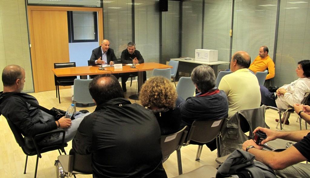 9-10-13 Συνάντηση με εργαζομένους στο Πανεπ. Πάτρας