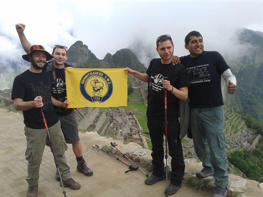 Παναιτωλικός παντού…Από την Ξάνθη μέχρι το Περού!