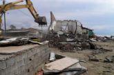 Οι ρομά γκρέμισαν τα αυθαίρετά τους πίσω από το γήπεδο Αιτωλικού