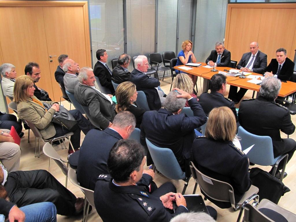 Σύσκεψη για την πολιτική προστασία