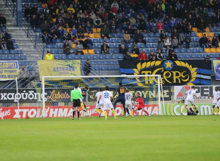 Τελικό: Αστέρας Τρίπολης- Παναιτωλικός 3-0 (φωτό)