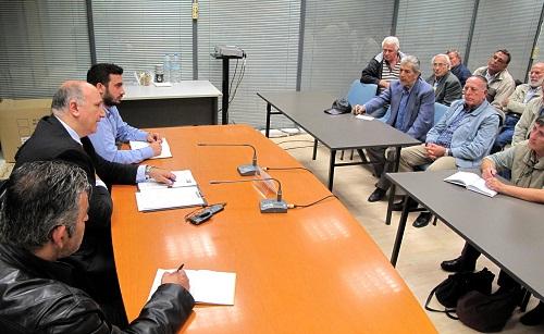 Συνάντηση Αγγελάκα με εκπροσώπους των Συνταξιουχικών Οργανώσεων