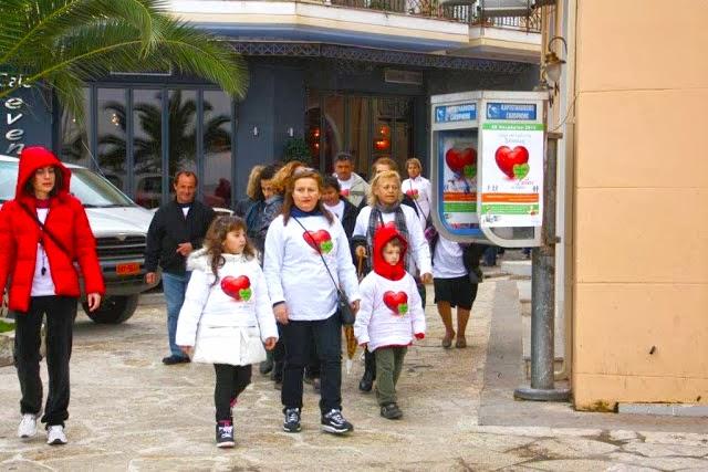 Σύλλογος Γυναικών Βόνιτσας: Περίπατος στη Βόνιτσα με τη φροντίδα του Becel pro-activ