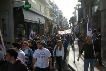 Απεργιακές συγκεντρώσεις στο Αγρίνιο (φωτο)