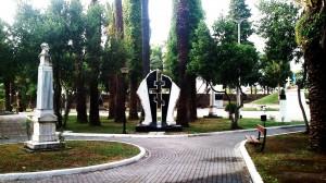 """Παρέμβαση της Ν.Φούντα για τον  """"Κήπο των Ηρώων"""""""