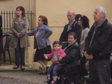Εσπερινή Θεία Λειτουργία στο Εκκλησάκι του Αγίου Μηνά στον Άγιο Κωνσταντίνο