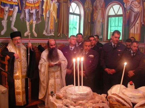 Η εορτή του Αγίου Γεωργίου του Χιοπολίτου στην 131 ΣΜ στο Άκτιο