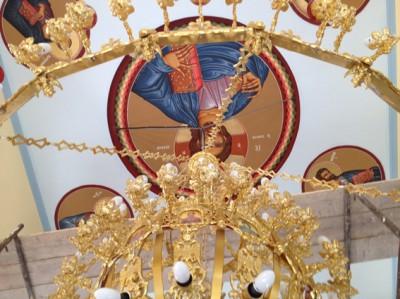 Λειτουργεί ξανά ο Ιερός Ναός Αγίου Νεκταρίου  Αμπελακίου
