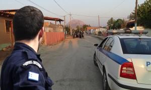 Αστυνομική έφοδος σε καταυλισμούς σε Ναύπακτο και Μεσολόγγι