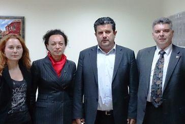 Συνάντηση Κατσούλη με αντιπροσωπεία της Ουκρανικής Πρεσβείας