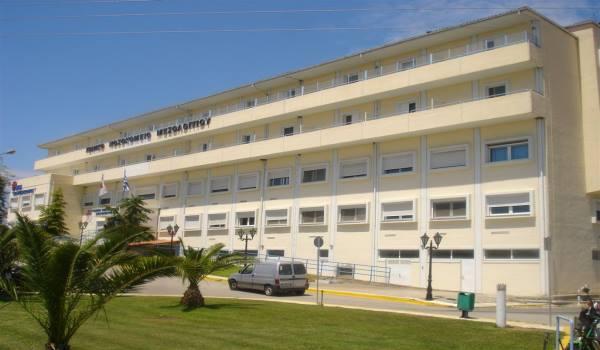Επίσκεψη της Μ.Τριανταφύλλου στο Νοσοκομείο Μεσολογγίου