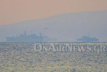 Πολεμικά πλοία ανοικτά του Μεσολογγίου
