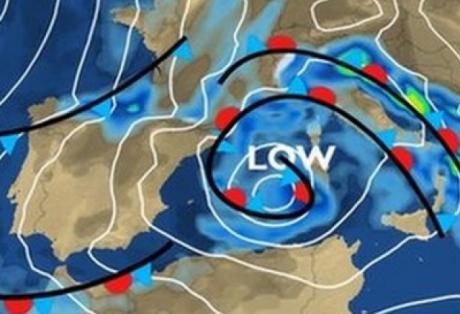 Δυτική Ελλάδα:Έρχεται -εξασθενημένος- ο κυκλώνας της Σαρδηνίας