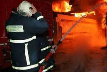 Πυρκαγιά σε σπίτι στην Αμφιλοχία