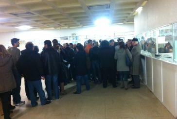 Χαμός στη ΔΟΥ Αγρινίου για την «αντισυνταγματική» εισφορά αλληλεγγύης (φωτο)