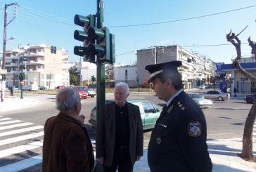 Oλοκληρώνεται η εγκατάσταση φωτεινών σηματοδοτών σε κόμβους του Αγρινίου