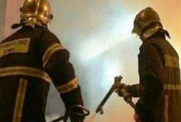 Στις φλόγες κατάστημα στο Λούρο