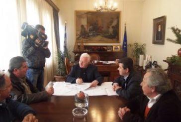 Υπογραφή σύμβασης για τα  Άη Βασιλιώτικα