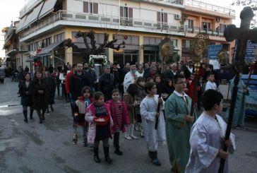 Καλύβια: Λιτάνευση ιερής εικόνας του Αγίου Νικολάου!