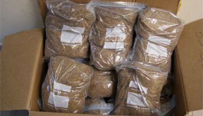 Πιάστηκε στα ΚΤΕΛ Αγρινίου με 13 κιλά παράνομο χύμα καπνό
