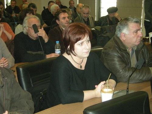 Παρούσα η βουλευτής Μαρία Τριαντάφυλλου
