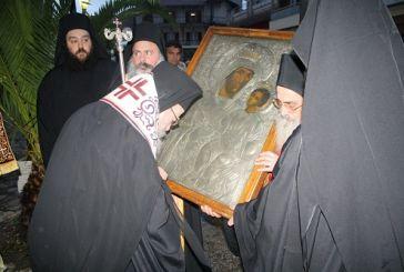 Η «Παναγία η Γηροκομήτισσα» στην Ιερά Μητρόπολη Αιτωλίας και Ακαρνανίας