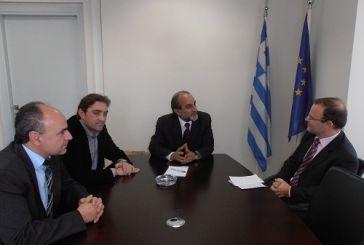 Συνάντηση Κατσιφάρα με τον Βρετανό Πρέσβη