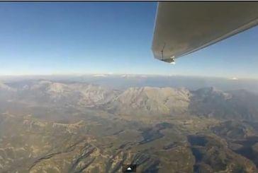 Πετώντας πάνω από Ορεινή Αιτωλοακαρνανία-Πίνδο