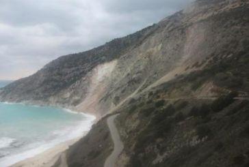 Νέες εντυπωσιακές εικόνες από τον Μύρτο μετά το σεισμό στην Κεφαλονιά