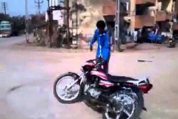 Οι καγκουριές με τα μηχανάκια δεν τραβάνε σε αυτήν τη γειτονιά φίλε! (Βίντεο)