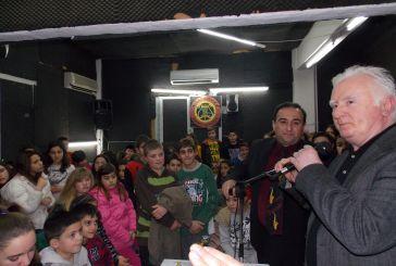 Κοπή πίτας με τους μικρούς μαθητές της η Φιλαρμονική (φωτο)