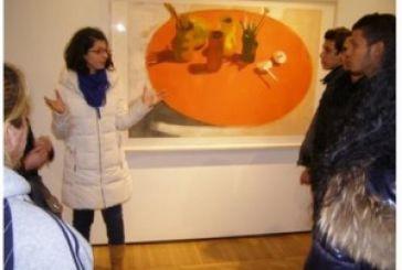 Εκπαιδευτική επίσκεψη του ΣΔΕ Αγρινίου στη Δημοτική Πινακοθήκη