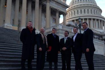 O Καραγκούνης σε εκδήλωση του Αμερικανικού Κογκρέσου