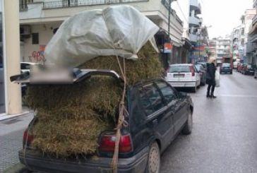 Φωτογραφία που κάνει το γύρο των social media:Το πιο… φορτωμένο αυτοκίνητο!