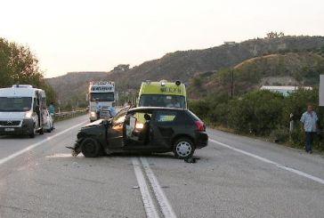 Πέντε τροχαία δυστυχήματα στη Δυτική Ελλάδα τον Οκτώβριο
